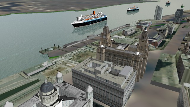 BMT's REMBRANDT Simulation Tool Supports the Three Queens' Visit to the Mersey