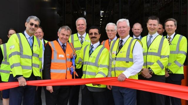 Official opening of the DP World London Gateway Logistics Centre