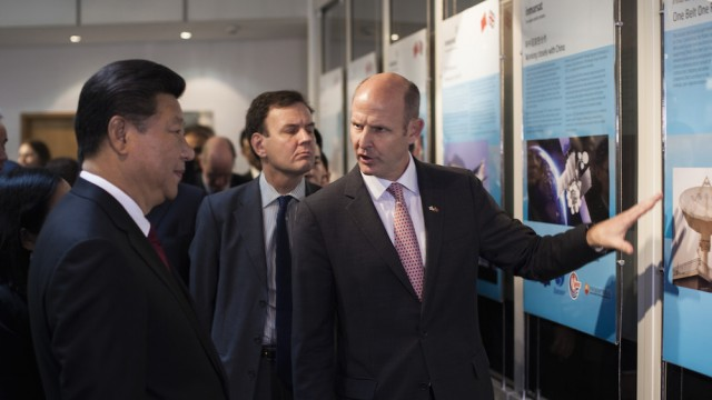 Inmarsat welcomes China's President Xi Jinping to London headquarters