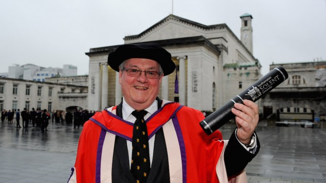Chief executive of Maritime London awarded honorary degree