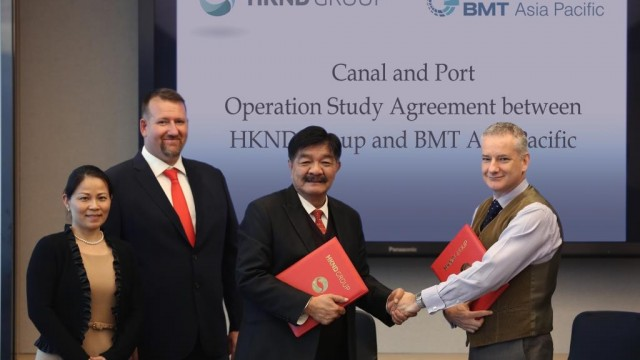 BMT to assist Nicaragua canal developers in optimising design, vessel operations and port strategy