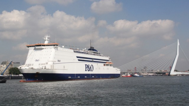 P&O Ferries reports 11% increase in HGV crossings on Hull-Rotterdam route