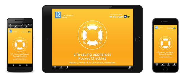 LR and UK P&I Club launch Life-Saving Appliances pocket checklist app