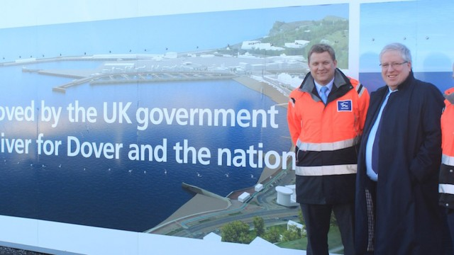 UK Secretary of State visits Britain's growing European trade gateway
