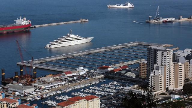 Gibraltar opens new super yacht berths