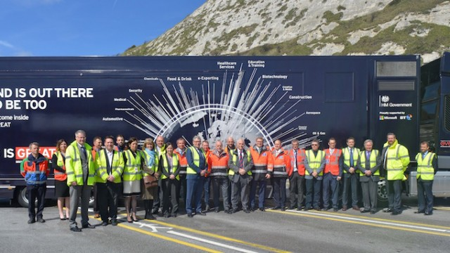 Port opens road to international freight success as part of Exporting is GREAT week