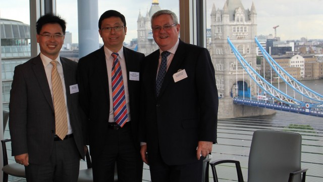 Chinese delegations visit London