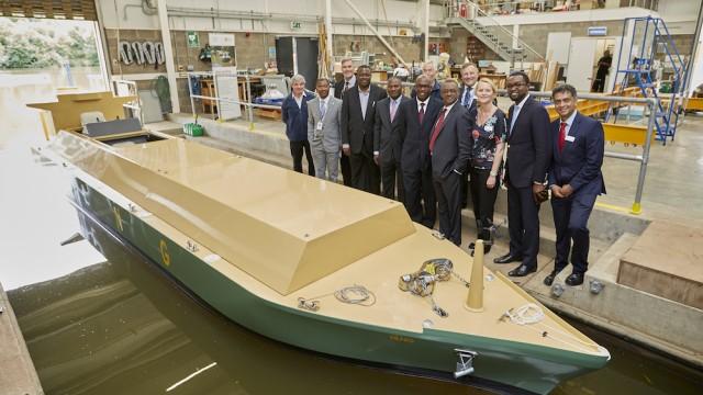 Nigeria LNG vessel joins Warsash Maritime Academy's fleet
