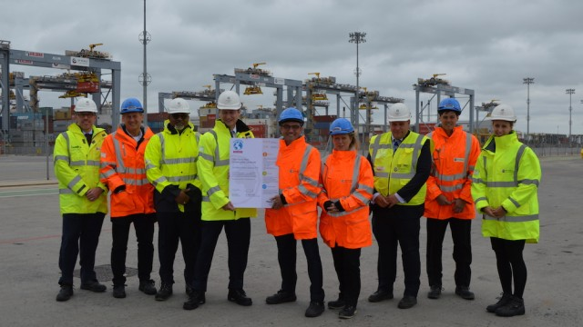 DP World London Gateway Port is first in the world to be awarded The Planet Mark™