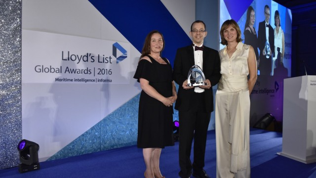 HFW wins Maritime Lawyer of Year at Lloyd's List Global Awards 2016