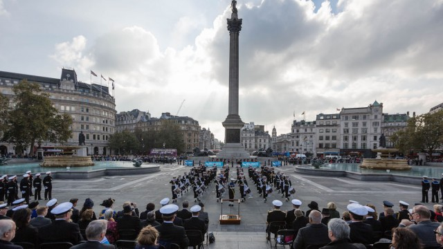 National Trafalgar Day Parade 2016