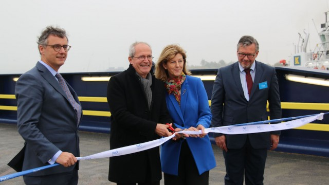 P&O Ferries opens expanded terminal at its Zeebrugge hub