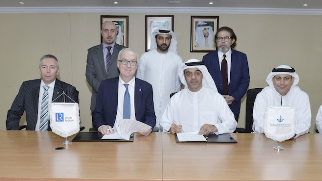 Lloyd's Register signs MoU with Dubai Maritime City Authority