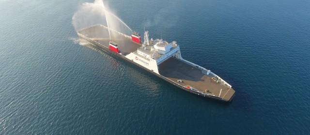 New hybrid fuel ferry classed by Bureau Veritas