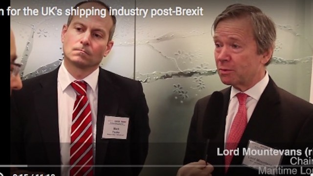The plan for the UK's shipping industry post-Brexit