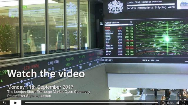 Official film highlighting London International Shipping Week 2017 (LISW17) goes live