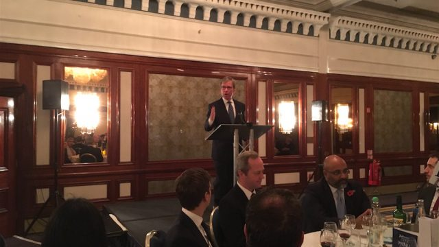 Maritime London and IMIF co-host dinner and seminar