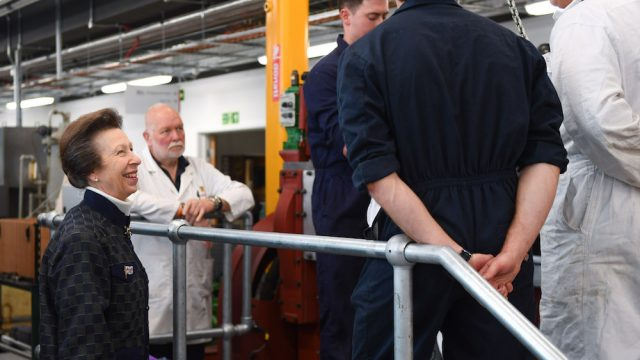 HRH The Princess Royal launches Warsash School of Maritime Science and Engineering