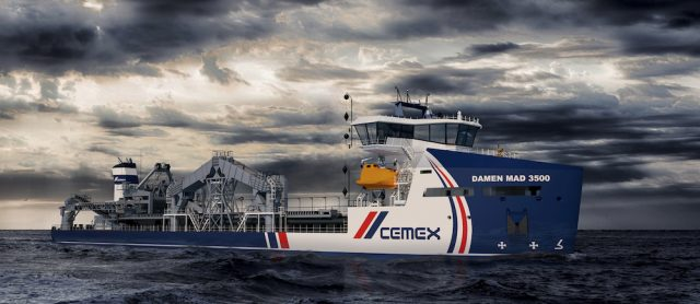 CEMEX, Damen and LR collaborate on next generation dredger design