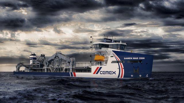 CEMEX, Damen and LR collaborate on next generation dredger design