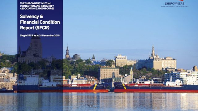 Shipowners' Club launches Solvency and Financial Condition Report