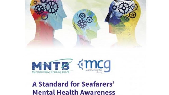 Maritime Charities Group launches mental health and wellbeing training standard