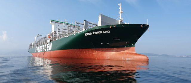 'Ever Forward' advance for autonomous operations on deep sea ships