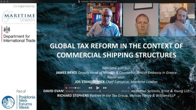 Global tax reform in the context of commercial shipping structures