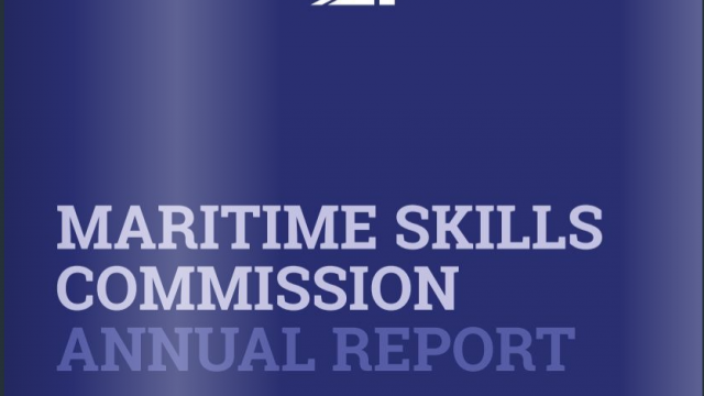 Maritime Skills Commission publishes first Annual Report