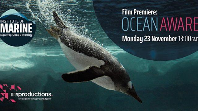 IMarEST to launch 'Ocean Aware' film