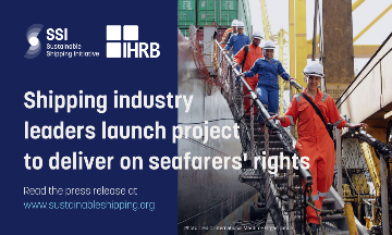 Shipping industry leaders launch project for delivering on seafarers' rights
