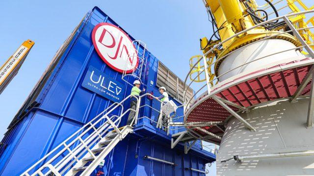 Bureau Veritas awards its first Ultra-Low Emission Notation to Jan De Nul vessels