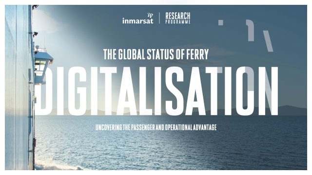 Global Ferry Digitalisation Report confirms huge transformation opportunities for Operators
