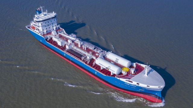 BV assigns full suite of smart notations to innovative Furetank chemical tanker