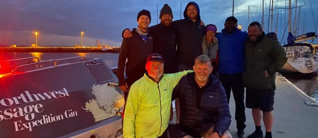 Northwest Passage Expedition team rows from Newcastle-upon-Tyne to Orkney Distillery